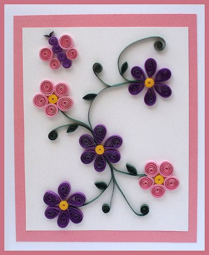 Поделки из квиллинга для начинающих цветы