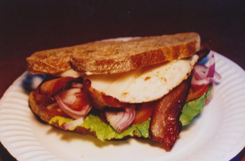 Sandwich Worldview Blt Egg Amp Cheese