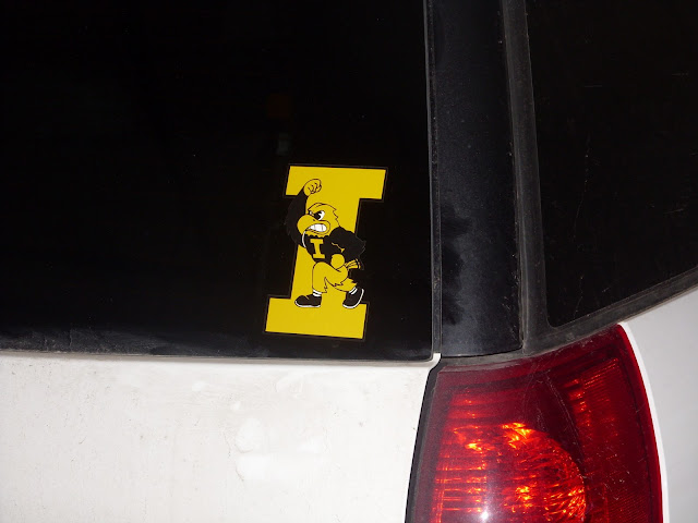 Herky the Hawkeye sticker