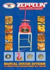 Mesin Pembagi Adonan (Manual)