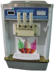 Mesin Ice Youghurt Portable