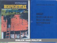 Dialek dan Politik
