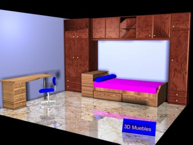 Muebles 3d for Software para disenar muebles