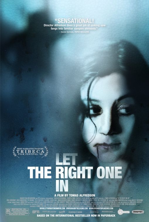 LET THE RIGHT ONE IN BOOK VS MOVIE