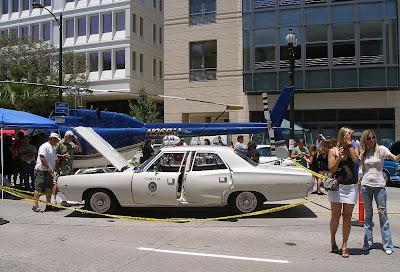 Overdog Pasadena Police Classic Car Show - Pasadena car show