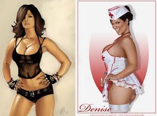 Top Model Denise Milani