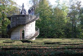 Interni Di Villa Pisani : Labirinto di villa pisani