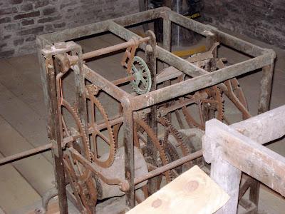 Ingranaggi orologio Campanile San Nicolò dei Mendicoli