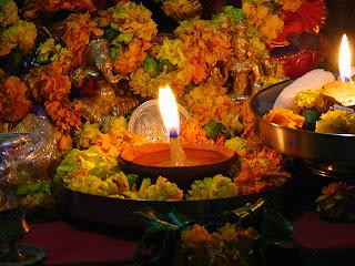 Comida de navidad en india