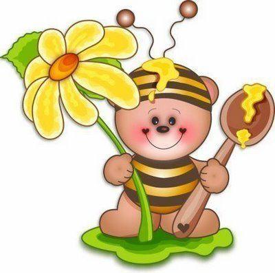 Imprimir imagenes infantiles abejas - Decorar dibujos infantiles ...