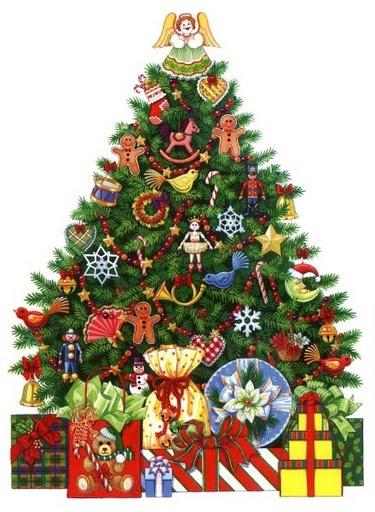 Imprimir imagenes arbol de navidad imagenes y dibujos - Dibujos de arboles de navidad ...