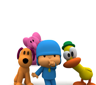Pocoyo and his friends in silence  Images pocoyo