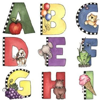 abecedario infantil imagenes para imprimir de la a a la i abecedario ...