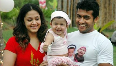 actor surya and jyothika celebrates daughter diya s birthday pictures ...