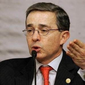 Alvaro Uribe, Presidente de Colombia