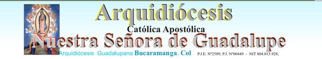 Arquidiocesis Guadalupana Bucaramanga