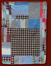 African American Crazy Quilt