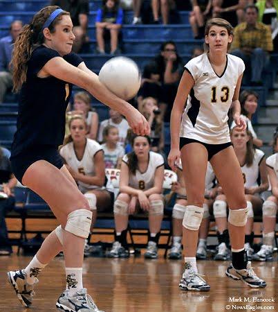 Highland Park Volleyball Highland Park Senior Caroline