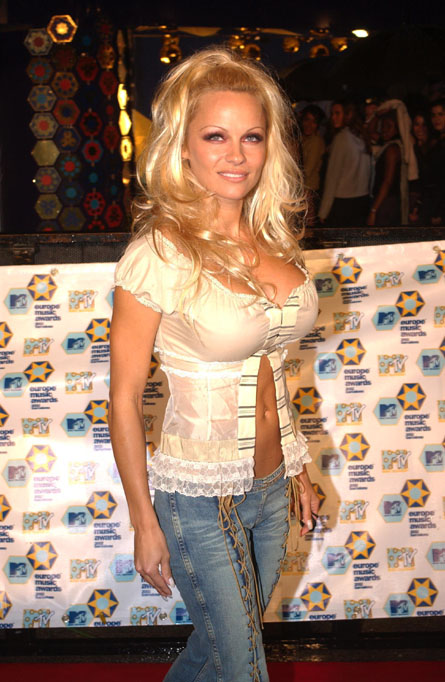 *PAM ANDERSON IS BACK IN THE NEWS -- SHE'S DOING AN INTERNATIONAL TOUR FOR ...