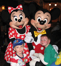 Connor & Nicky at Disneyland