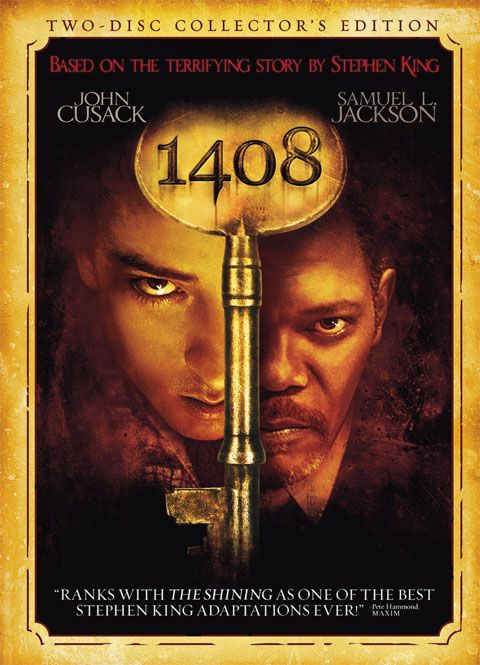 Spooktacular movies 1408 for Stephen king habitacion 1408