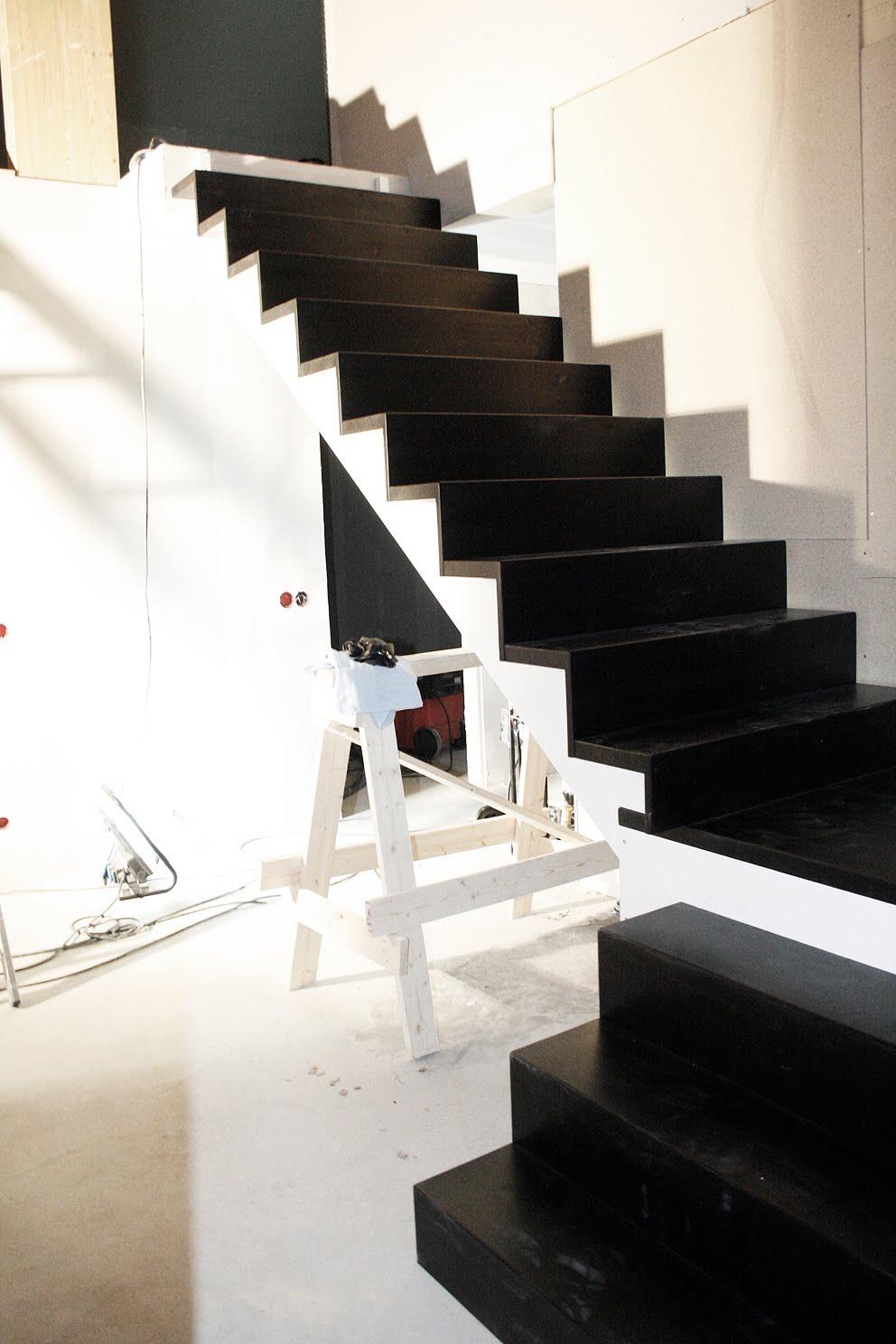 Speckstahuset: trapp...