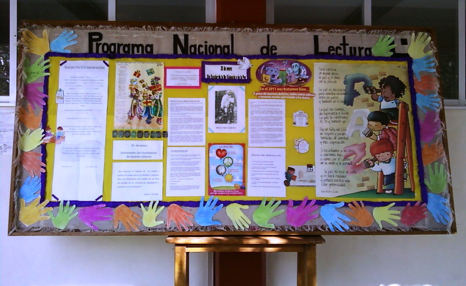 Programa nacional de lectura regi n monta a alta de for El mural periodico