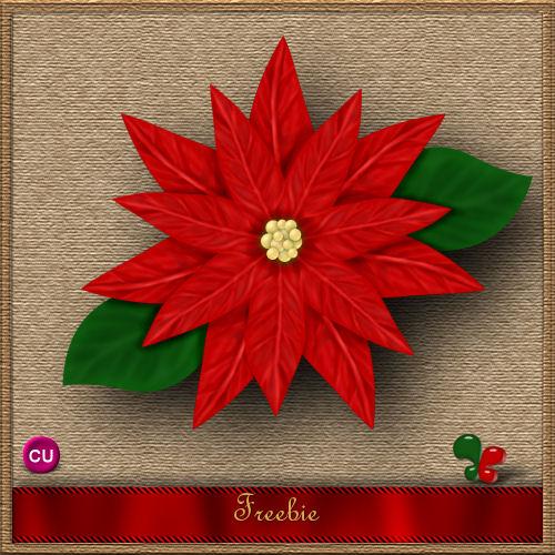 Una Hermosa Flor De Nochebuena Para Tus Ss De Navidad Script Psp 9