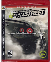 Need For Speed ProStreet PS3 Greatest Hits
