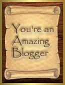 Your an Amazing Blogger Award