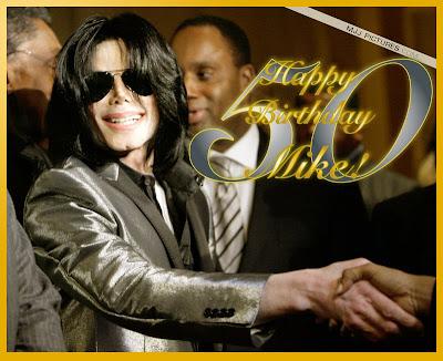 about Michael Jackson: El 50 cumpleaños de Michael Jackson
