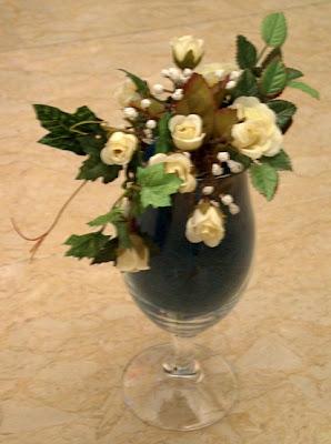 Fiore di loto composizioni for Composizioni natalizie in vasi di vetro