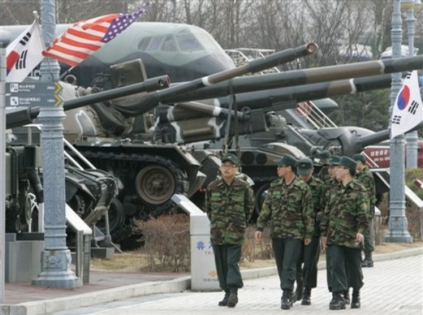 the north korean army. Arms control may be the most