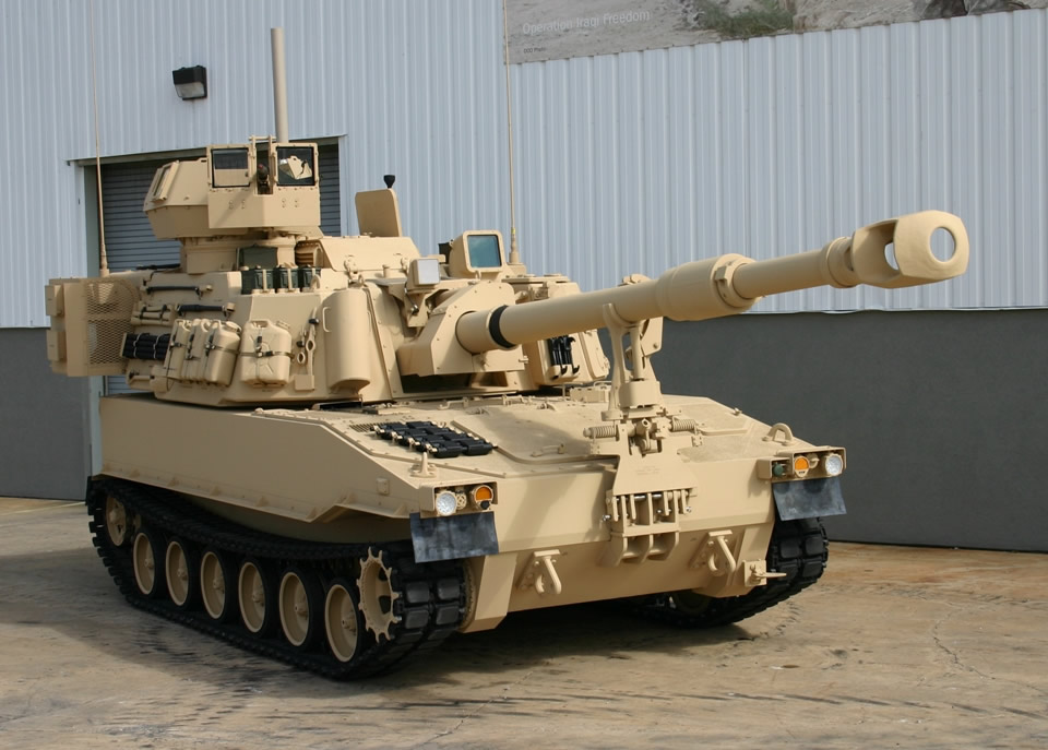 M109a6 Paladin http://forcesmilitary.blogspot.com/2010/12/us-army-m109a6-and-m992a2-pim-in.html