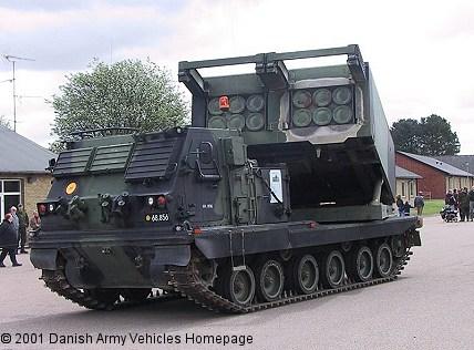 راجمة الصواريخ الامريكية الرهييبة M270 MLRS............ شامل M2701A+GMLRS
