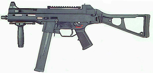 Germany made mp7 hk ump and hk mp5 assaul rifle by for Portent g3 sw 12