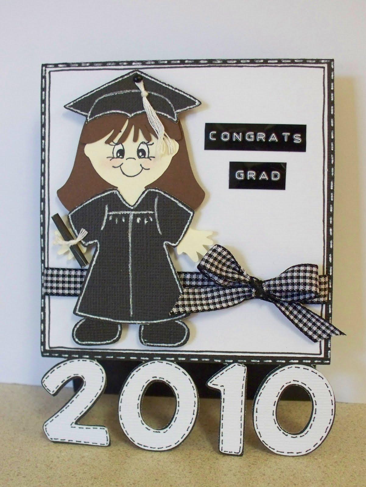 Scrappin Navy Wife Congrats Grad 2010 Cards
