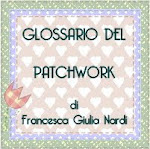 Glossario Patchwork By Francesca Giulia Nardi