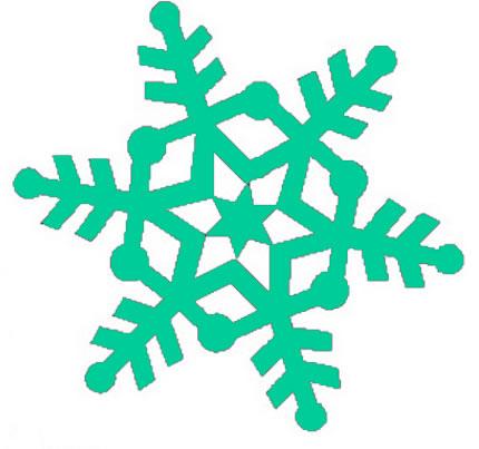 clip art borders christmas. 3d christmas snowflake order