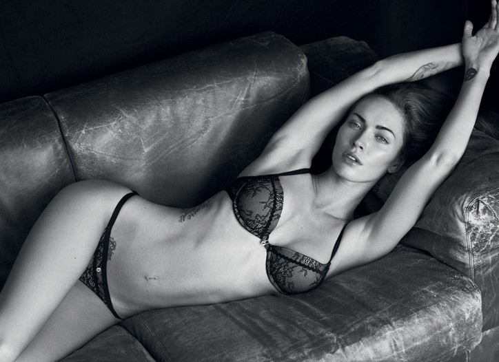 The very gorgeous Megan Fox (already the face of Giorgio Armani Beauty)