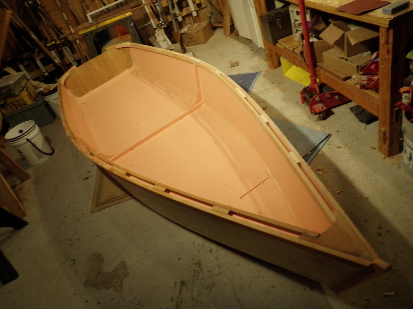Plywood+Skiff+Boat+Plans ... building-a-wooden-jon-boat-with-simple ...