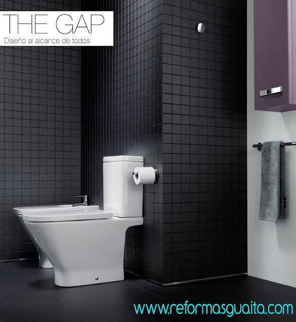 los lavabos the gap son una solución integral de lavabo