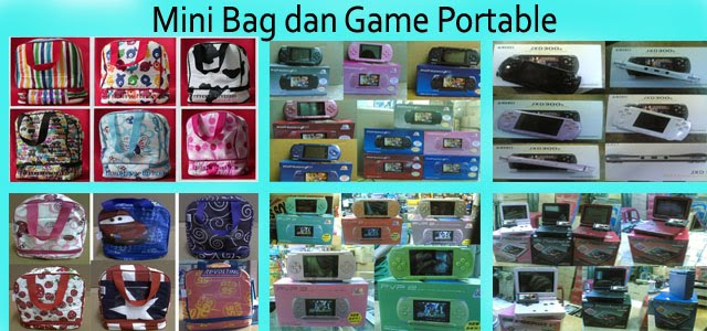 Mini Bag dan Game Portable