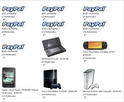 20 Dollar dari Paypal Cash
