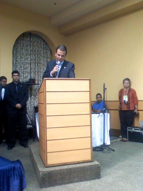 Conferencia de Seguranaça Publica Etapa Rio de Janeiro
