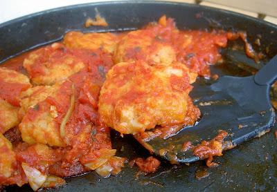 polpette di fagioli borlotti al sugo di pomodoro