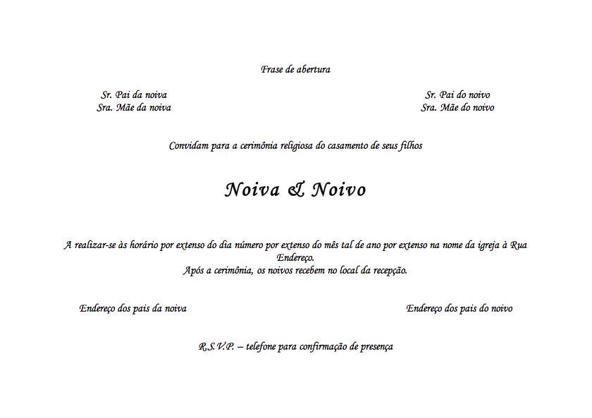 Frases Para Convites De Casamento Diferentes
