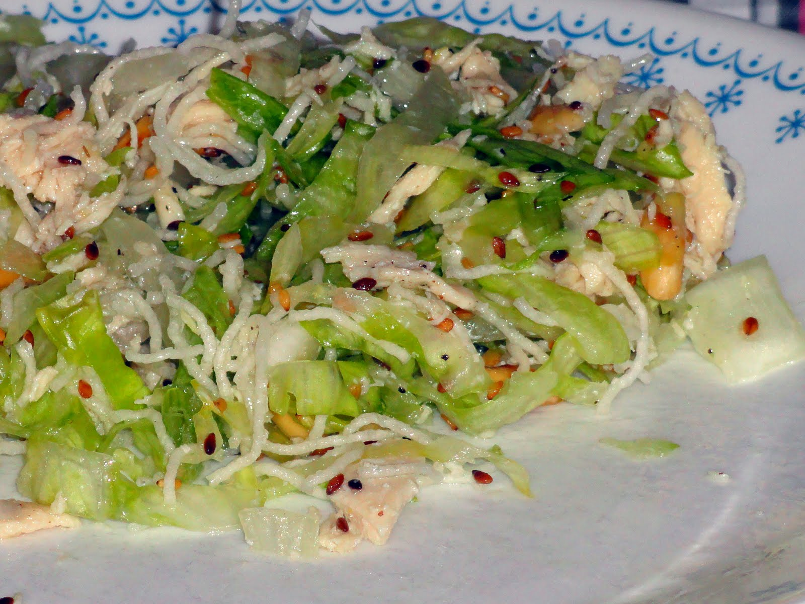 Rogers Family Recipes: Chinese Chicken Salad