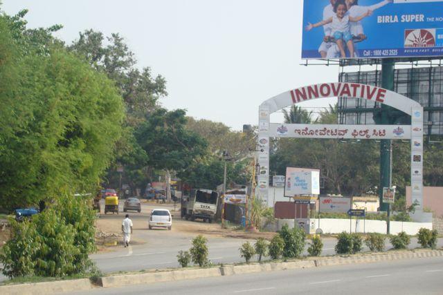 for Innovative Film city 2011