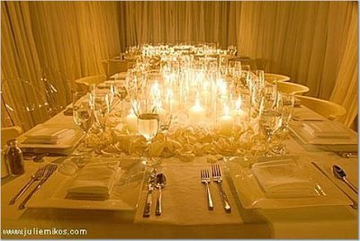 wedding candles, wedding centerpiece ideas without flowers, non floral centerpiece